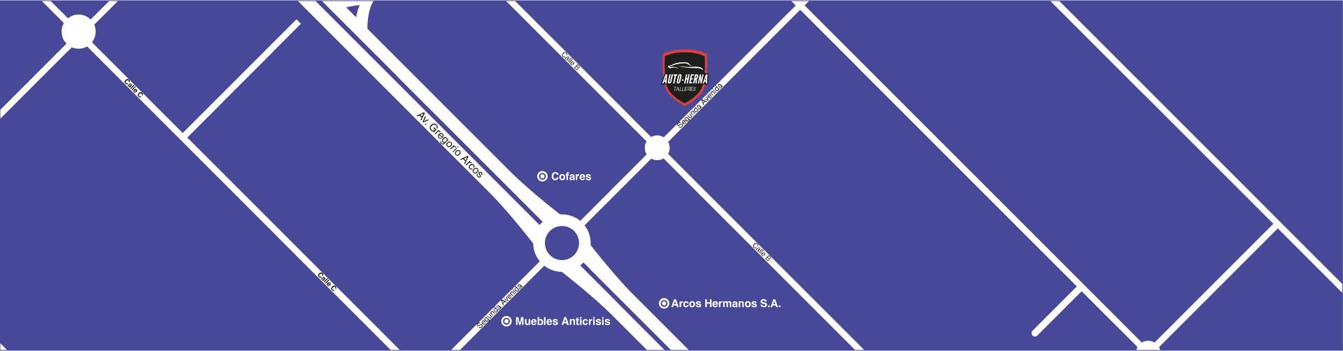 mapa talleres autoherna