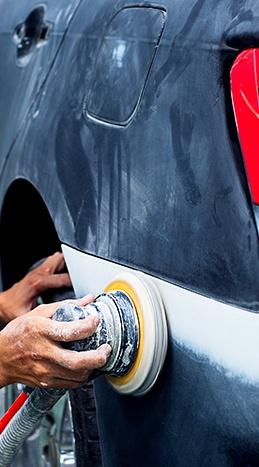 Reparación chapa y pintura